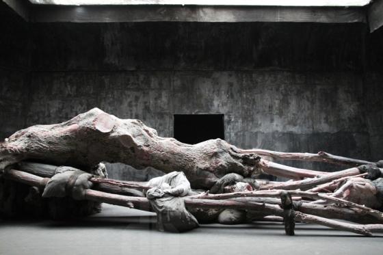 Cripplewood by Belinda De Bruyckere. Belgium Pavilion.