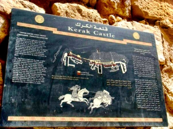 the Crusader Castle of Kerak