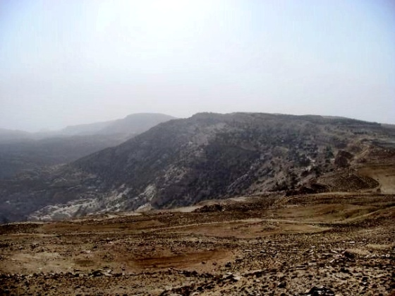 the drive from the Dead Sea to Kerak