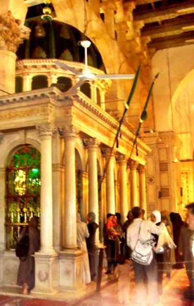 Shrine of St John the Baptist, Umayyad Mosque
