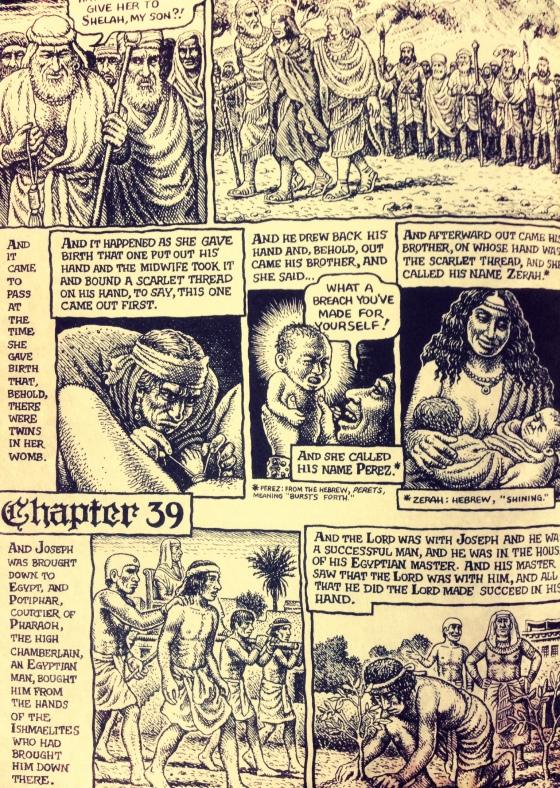 The Book of Genesis. Robert Crumb.