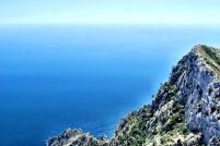 View from Monte Solaro.