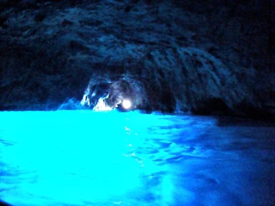 Blue Grotto/Grotta Azzurra.