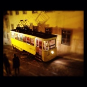 Iconic Lisboa tram