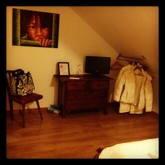 Our room at Casa do Pátio