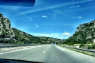 Driving to Gorges du Verdon