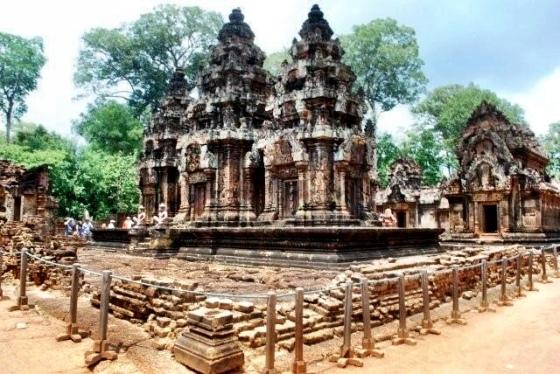 Banteay Srei complex
