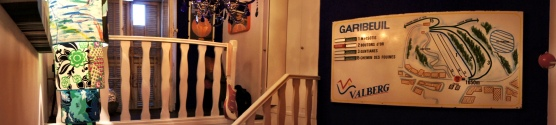 Panoramic shot of the bedroom