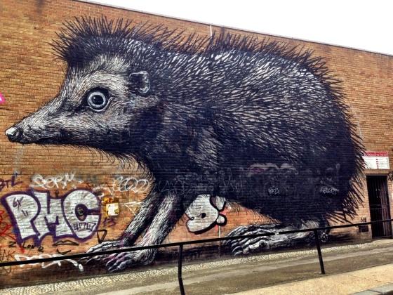 Hedgehog by ROA